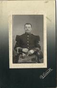 Grand CDV-(CAB) Soldat Du 106e Régiment--photo Odinot - War, Military