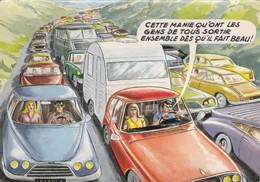 """Illustrateurs - Signés > Carrière, Louis   """" Cette Manie Qu'ont Les Gens De Tous Sortir Ensemble  """" Photochrom 503 99 - Carrière, Louis"""