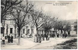 D16 . CPA . COGNAC . Hopital Complementaire - Rue De La Providence . Animation.. - Cognac