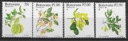 1997 BOTSWANA 800-03** Fleurs - Botswana (1966-...)