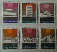 BULGARIA 1972 ARCHITECTURE Buildings BLACK SEA HOTELS - Fine Set MNH - Unused Stamps