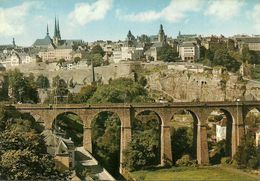 Luxembourg, Vue Generale Avec Le Rocher Du Bock, The Upper Town And The Bastion Of The Bock - Lussemburgo - Città