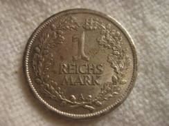 1 Reichmark 1926 A - [ 3] 1918-1933 : Weimar Republic