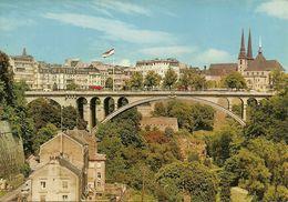 Luxembourg, Pont Adolphe, Cathedrale Et Vallée De La Petrusse - Lussemburgo - Città