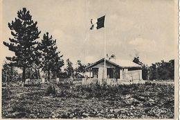CPSM/gf (67)  MUTZIG.  L'entrée Du Camp, La Poste De Police. ..A541A - Mutzig