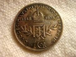 Autriche-Hongrie 1 Korona 1908 - Autriche