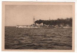 """Nr. 9893,  Unsere Marine In Krieg Und Frieden, Schlachtkreuzer S.M.S. """"Moltke"""" - Warships"""