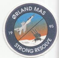 Embleem - Textiel - Gedrukt - Ørland Mas Strong Resolve 1995 - Luchtmacht - Blazoenen (textiel)