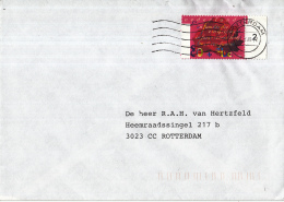 Nederland - Zegel Op Brief - Zomerzegels - Rozenknop - NVPH 1716 - Period 1980-... (Beatrix)