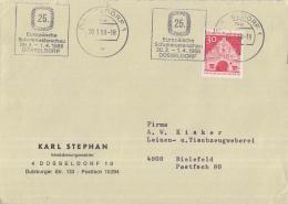 Duitsland - Vlagstempel - 25. Europäische Schuhmunsterschau 30.3 - 1.4.1968 Düseldorf - Düsseldorf - Textiel