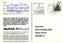 Duitsland - Vlagstempel - Neuburg Stadt An Der Donau - Neuburg A.d. Donau - Bruggen