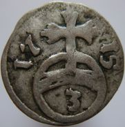 Germany Hildesheim 3 Pfennig 1715 RRR - Silver - Small Coins & Other Subdivisions