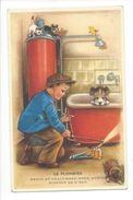 18313 - Le Plombier Grace Au Chalumeau Nous Aurons Bientôt De L'eau Chiens Et Chats - Humour