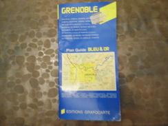 Edition Grafocarte - Plan & Guides Bleu & Or - Grenoble - Cartes Routières