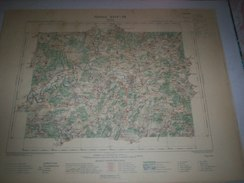 CARTE GEOGRAPHIQUE  G - Format  45 X 57 De HAUTE  SAONE_Feuille  VESOUL_XXIV  18 ) En1897 - Geographische Kaarten