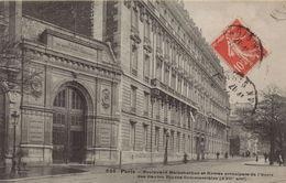 PARIS 17EME - Boulevard Malesherbes Et Entrée Principale Des Hautes Etude Commerciales - District 17