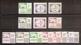 1969 Jersey SEGNATASSE  POSTAGE DUE Serie Di 6v. (1/6) MNH** + Decimali 7/14 In Omaggio - Jersey