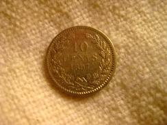 Netherland: 10 Cents 1897 - [ 3] 1815-… : Regno Dei Paesi Bassi