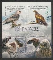 Burundi - 2012 - N°1734 à 1737 - Rapaces - Neuf Luxe ** / MNH / Postfrisch - Cote 19€ - Eagles & Birds Of Prey