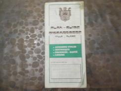 Plan - Guide - Biscarrosse - - Cartes Routières
