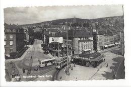 18317 - Neuchâtel Place Purry Tram - NE Neuchâtel