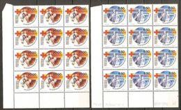 1979 Portogallo Portugal SALUTE PUBBLICA HEALTH 12 Serie Di 2v. (1445/46) In Blocco AF MNH** - Salute
