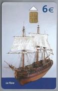 ES.- Telefoonkaart. TELEFONICA. Museo NAVAL. Modelo Del Navio Para Transporte De Pertrechos La Flora. - Boten