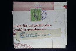 Austria, Briefmark Auf Teil Magazine Uber Luftscgiffhallen  Wien -> Haarlem Niederlande - 1918-1945 1. Republik