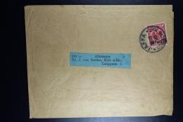 DR Streifband  Deutsche Post  Jaffa -> Köln  1898  Mi 7 - Kantoren In Het Turkse Rijk