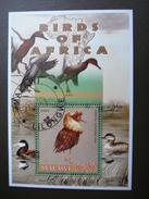 Malawi 2005 # Birds - Philomache Phylomache # Used S/s # Philomachus Birds Of Prey (141) - Oiseaux