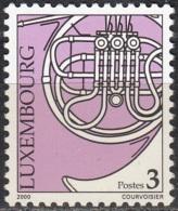 Luxembourg 2000 Michel 1499 Neuf ** Cote (2008) 0.20 Euro Tuba - Ongebruikt