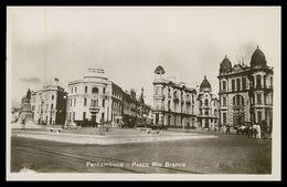 PERNAMBUCO -RECIFE - Praça Rio Branco.carte Postale - Recife