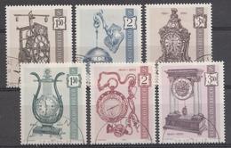 Autriche 1970  Mi.Nr: 1328-1330+1344-1346 Alte Uhren  Oblitèré / Used / Gebruikt - 1945-.... 2de Republiek