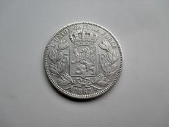 Belgique 5 Frank 1867 - 1865-1909: Leopold II