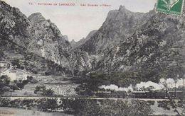 34)  Environs  De  LAMALOU - Les Gorges D' Héric  (  Train  ) - Lamalou Les Bains