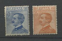 Italia 79 Et  182  **   Cote 25 E  Beaux Et Frais Et Bien Centrés - Mint/hinged