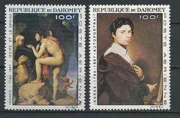 DAHOMEY Scott C49-C50 Yvert  PA53-PA54 (2) ** Cote 6,00$ 1967 - Bénin – Dahomey (1960-...)