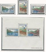 DAHOMEY Scott 241-243, 243a Yvert  261-263, BF10 (3+bloc) O Et ** Cote 6,00$ 1967 - Bénin – Dahomey (1960-...)