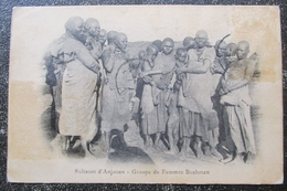 Comores Anjouan Sultanat Groupe Femmes Bushmen Cpa - Comoros