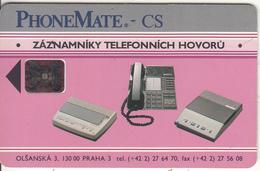 CZECHOSLOVAKIA - PhoneMate, Chip SC5, Tirage 50000, 12/92, Used - Czechoslovakia