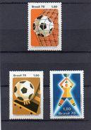 Brasilien, 1978, Fußball-WM Argentinien, Michel 1643/45, Postfrisch/**/MNH - Brésil