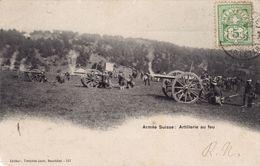 Armée Suisse - Artillerie Au Feu - Autres