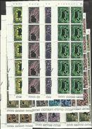 1970 San Marino Saint Marin ZODIACO  ZODIAC 10 Serie Di 12v . In Blocco MNH** - Unused Stamps