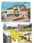 Moselle 2 Cartes- Château-Salins Et Moyeuvre Grande-(C.1981) - Chateau Salins