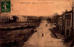 Puy De Dôme - St Eloy Les Mines - Quartier De La Place Et L'Hôtel De Ville - Saint Eloy Les Mines