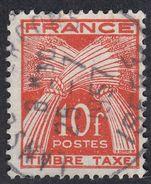 FRANCIA - FRANCE - Segnatasse Yvert 76, Usato. - Portomarken