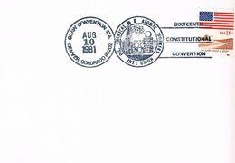 USA - Karte Mit Sonderstempel Gewerkschaften - Trade Union - Denver Colorado - Chemie- Und Atomindustrie - Etats-Unis
