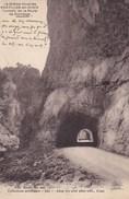 CPA La Drôme Illustrée, Chatillon En Diois, Tunnels De La Route De Giandage (pk40480) - Châtillon-en-Diois