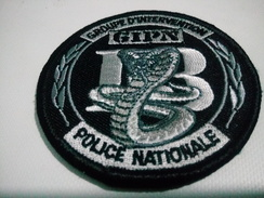 ECUSSON  POLICE GIPN MARSEILLE 13 INTERVENTION SWAT PATCH BADGE - Police