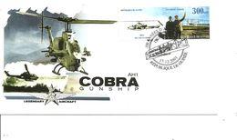 Hélicoptères - Cobra AH1 ( FDC De Guinée De 2003 à Voir) - Hubschrauber